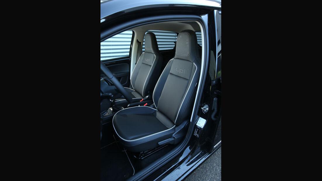 VW Up 1.0 BMT, Fahrersitz