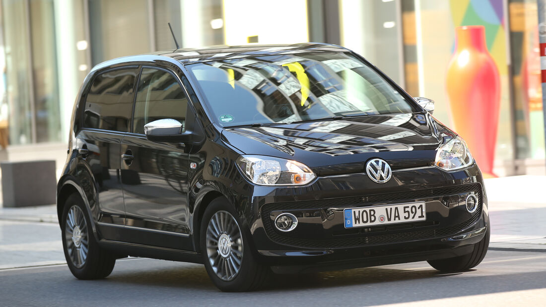 VW Up 1.0 BMT, Frontansicht