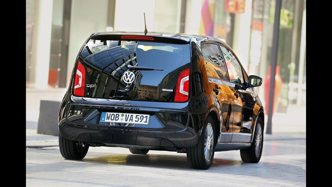 VW Up 1.0 BMT, Heckansicht