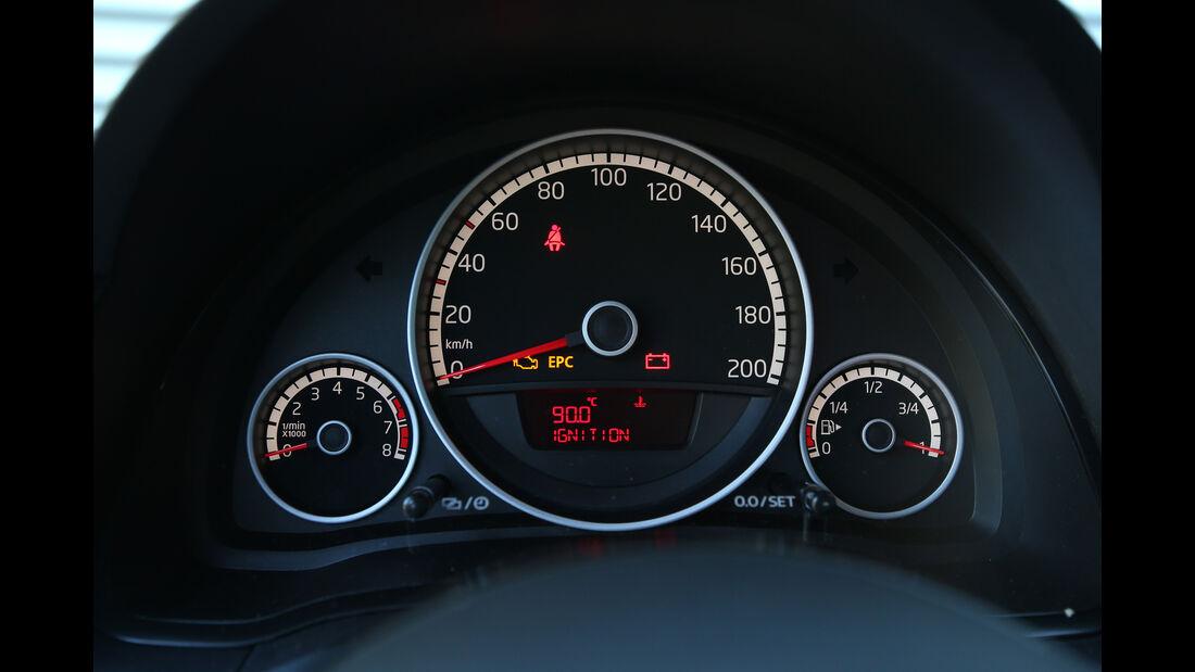 VW Up 1.0 BMT, Rundinstrumente