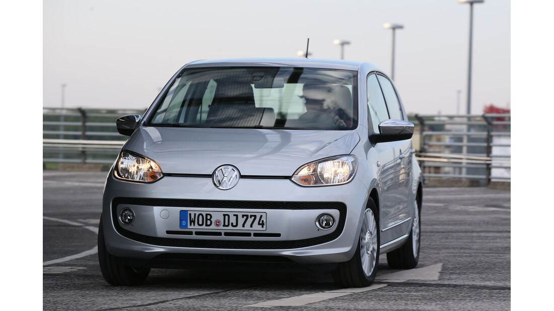 VW Up 1.0 Bluemotion, Frontansicht