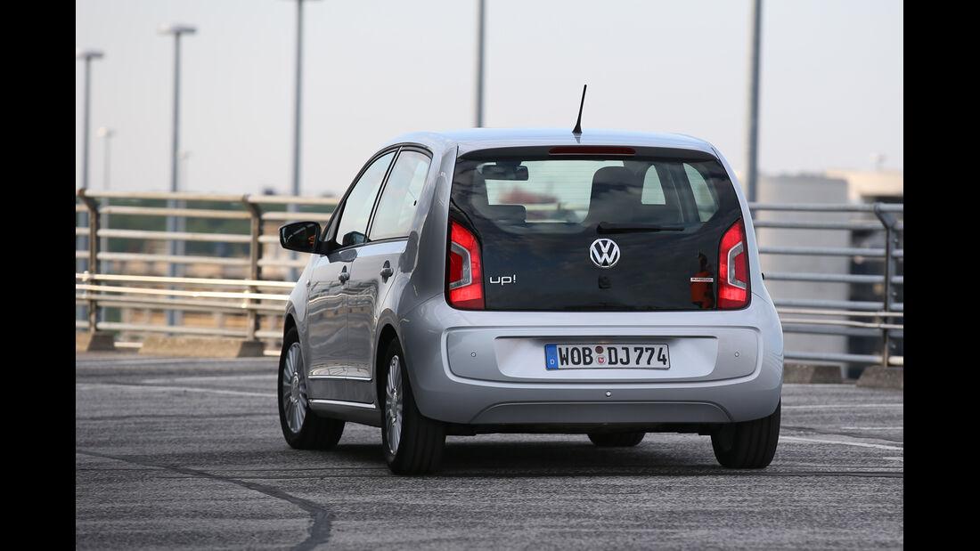 VW Up 1.0 Bluemotion, Heckansicht