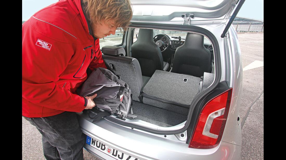 VW Up 1.0 Bluemotion, Kofferraum
