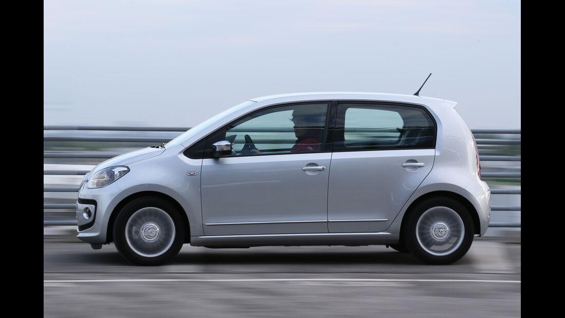 VW Up 1.0 Bluemotion, Seitenansicht