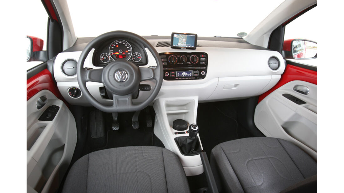 VW Up 1.0, Cockpit