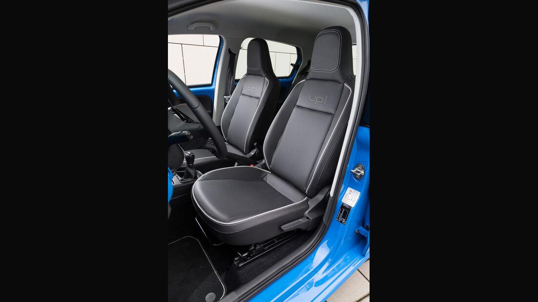VW Up 1.0, Fahrersitz