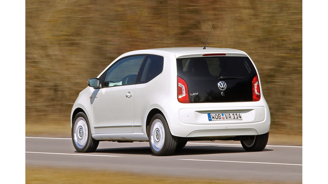 VW Up 1.0, Heck