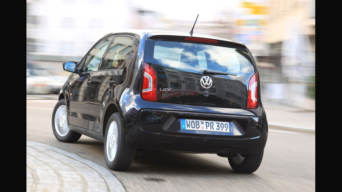 VW Up 1.0, Heckansicht
