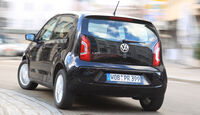 VW Up 1.0, Heckansicht
