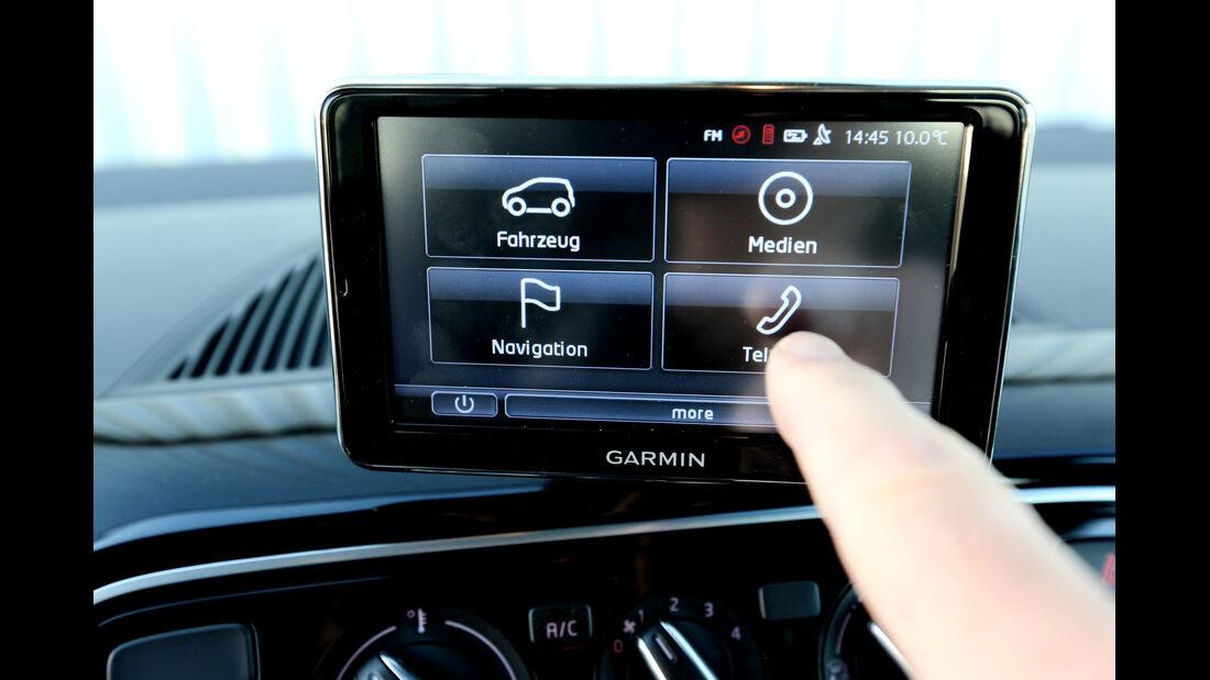 VW Up 1.0, Infotainment, Display