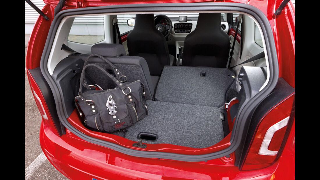 VW Up 1.0, Kofferraum