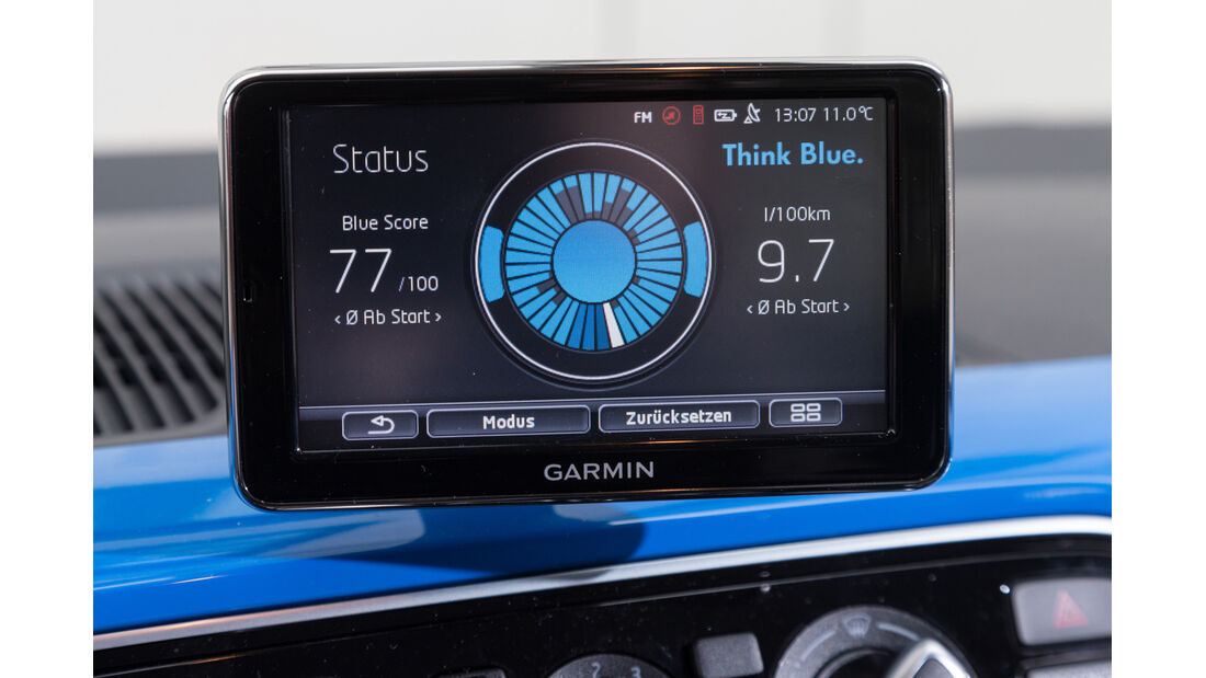 VW Up 1.0, Navi, Display