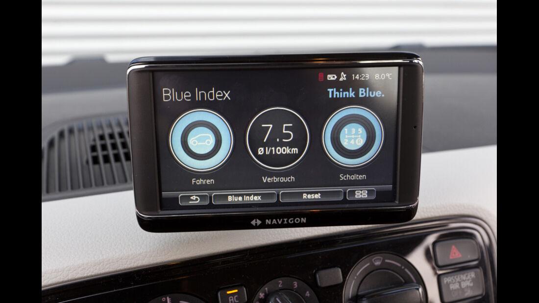 VW Up 1.0, Navidisplay