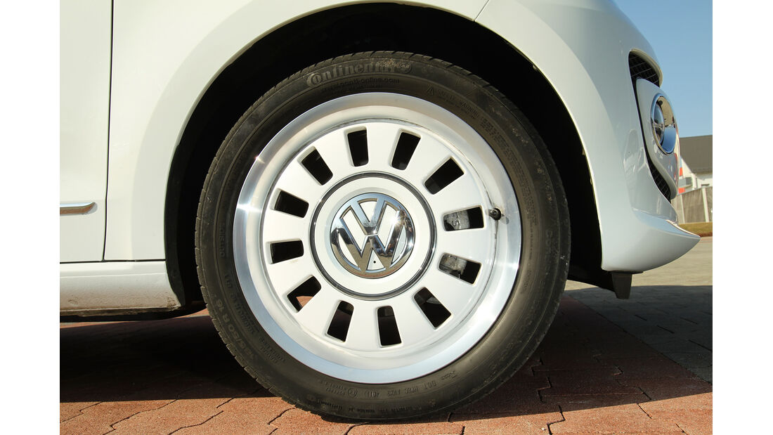 VW Up 1.0, Rad, Felge