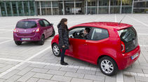 VW Up 1.0, Renault Twingo 1.2 LEV 16V 75