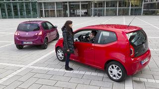 VW Up 1.0, Renault Twingo 1.2 LEV 16V 75