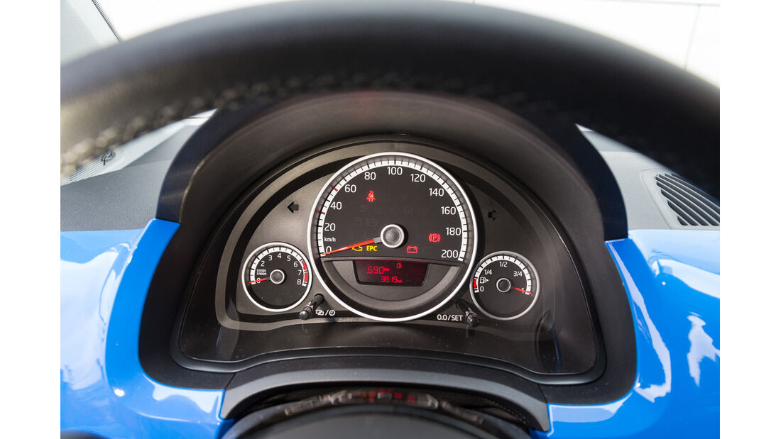 VW Up 1.0, Rundinstrumente