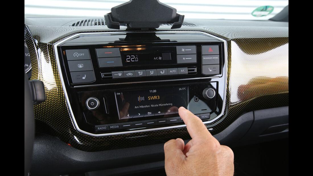 VW Up 1.0 TSI, Bedienelemente