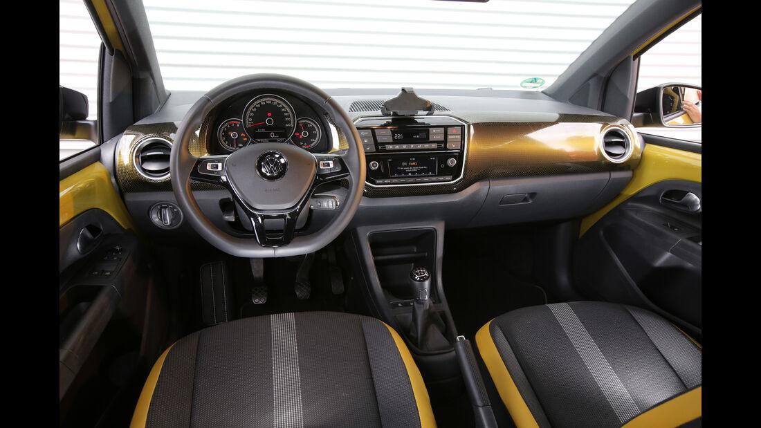 VW Up 1.0 TSI, Cockpit