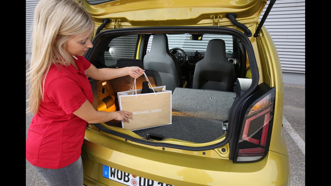 VW Up 1.0 TSI, Kofferraum