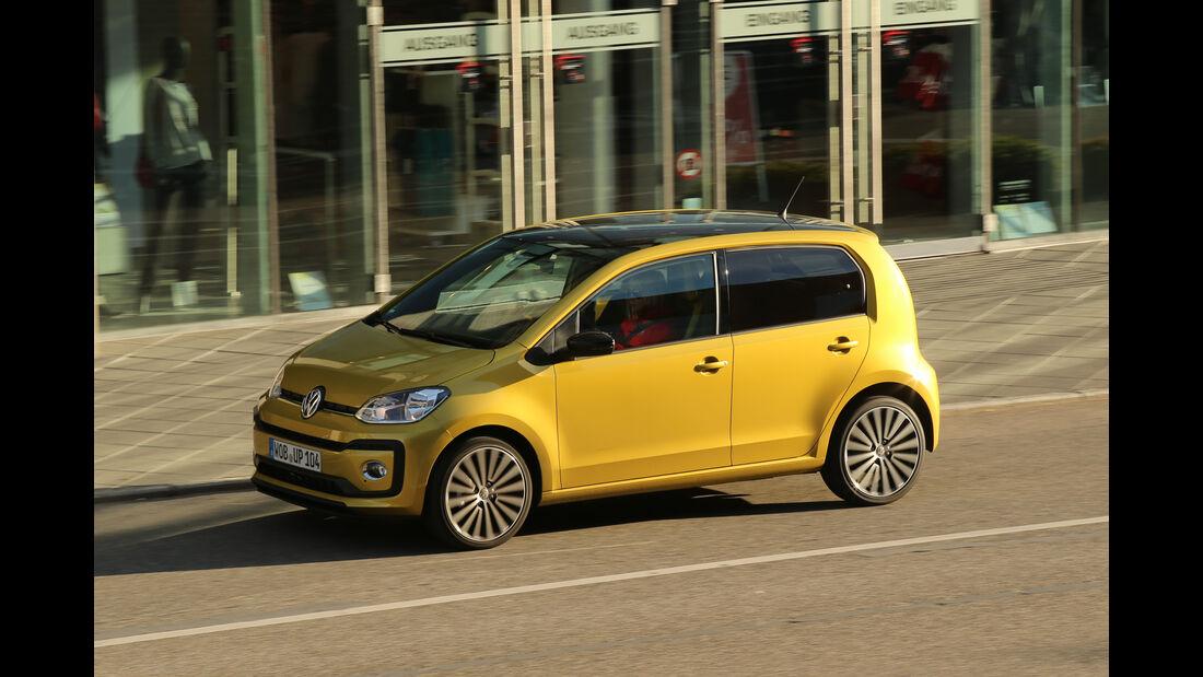 VW Up 1.0 TSI, Seitenansicht