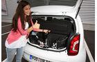 VW Up 1.0 Take up, Gepäck, Kofferraum