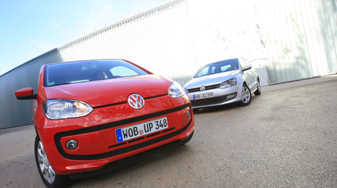 VW Up 1.0, VW Polo 1.2 BMT