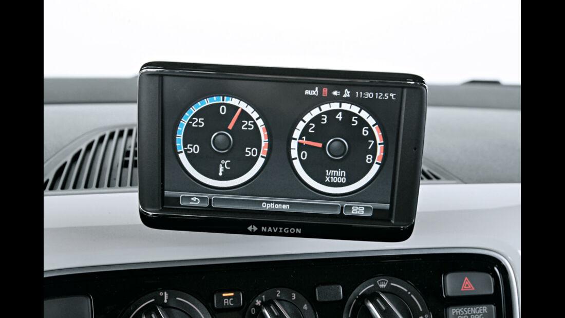 VW Up 1.0 White, Bildschirm