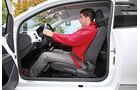 VW Up 1.0 White, Fahrersitz