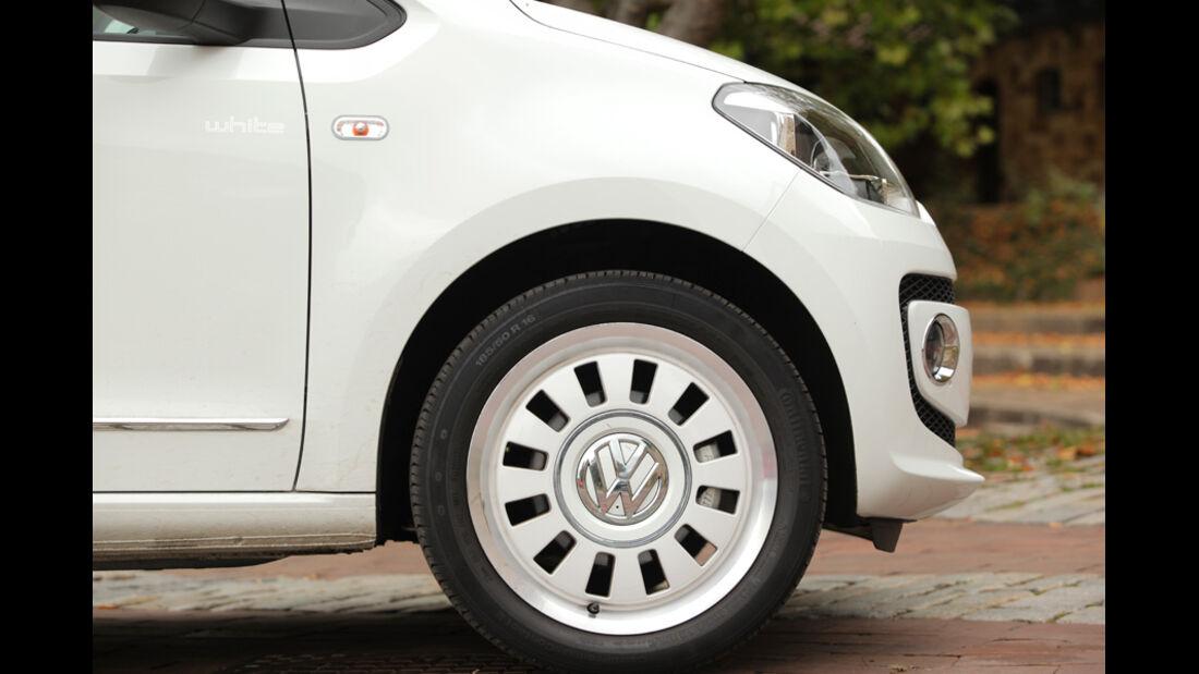 VW Up 1.0 White, Felge, Rad