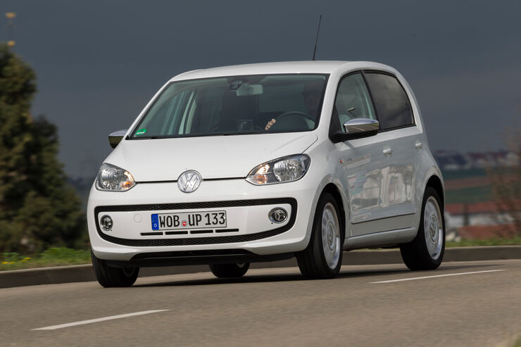 vw up 1 0 white viert rer im test mehr nutzwert und. Black Bedroom Furniture Sets. Home Design Ideas