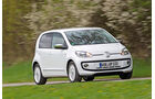 VW Up 1.0 White, Frontansicht