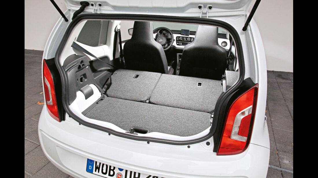 VW Up 1.0 White, Kofferraum