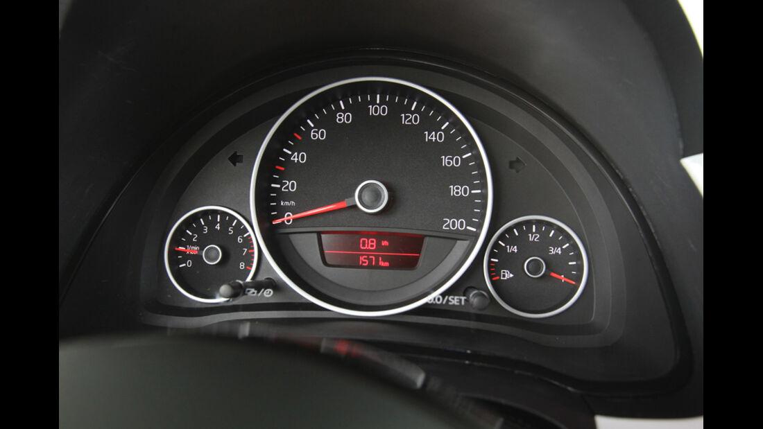 VW Up 1.0 White, Rundinstrumente