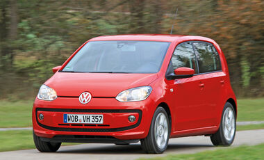 VW Up ASG, Frontansicht