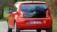 VW Up ASG, Heckansicht