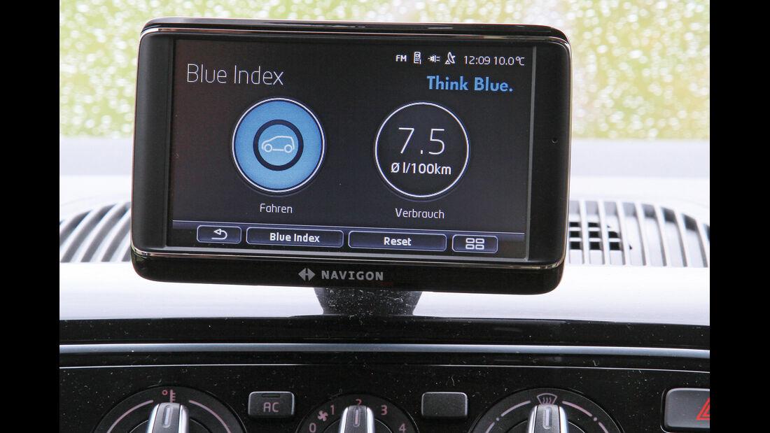 VW Up ASG, Navi, Blue Index