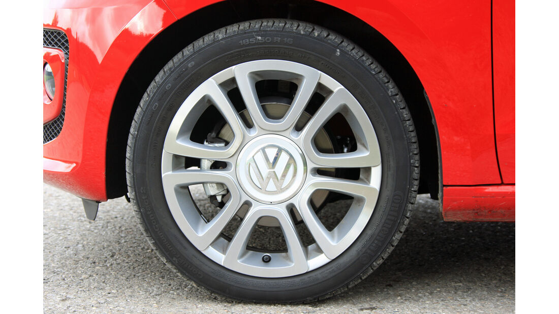 VW Up ASG, Rad, Felge