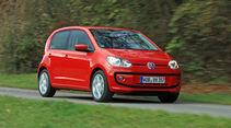 VW Up ASG, Seitenansicht