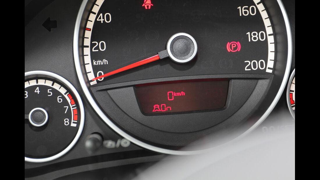 VW Up, Anzeige, Display