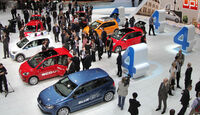 VW Up Autosalon Genf 2012, Messe
