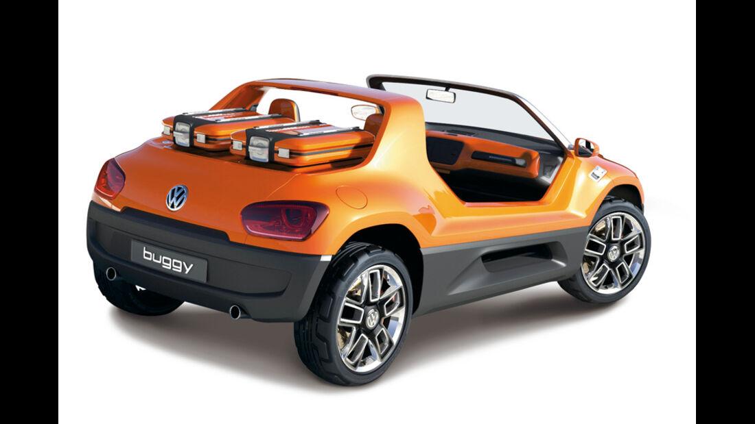 VW Up! Buggy, Seitenansicht