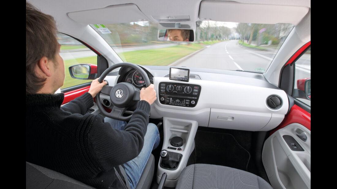 VW Up, Cockpit