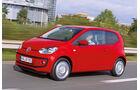 VW Up Ecofuel, Seitenansicht