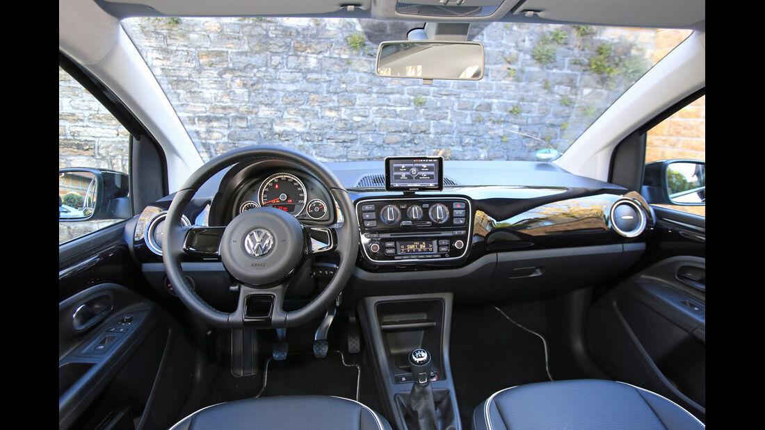 VW Up Ecofuel high up BMT, Cockpit