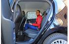 VW Up Ecofuel high up BMT, Fondsitz, Beinfreiheit