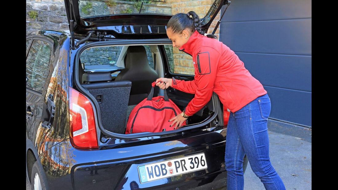 VW Up Ecofuel high up BMT, Kofferraum