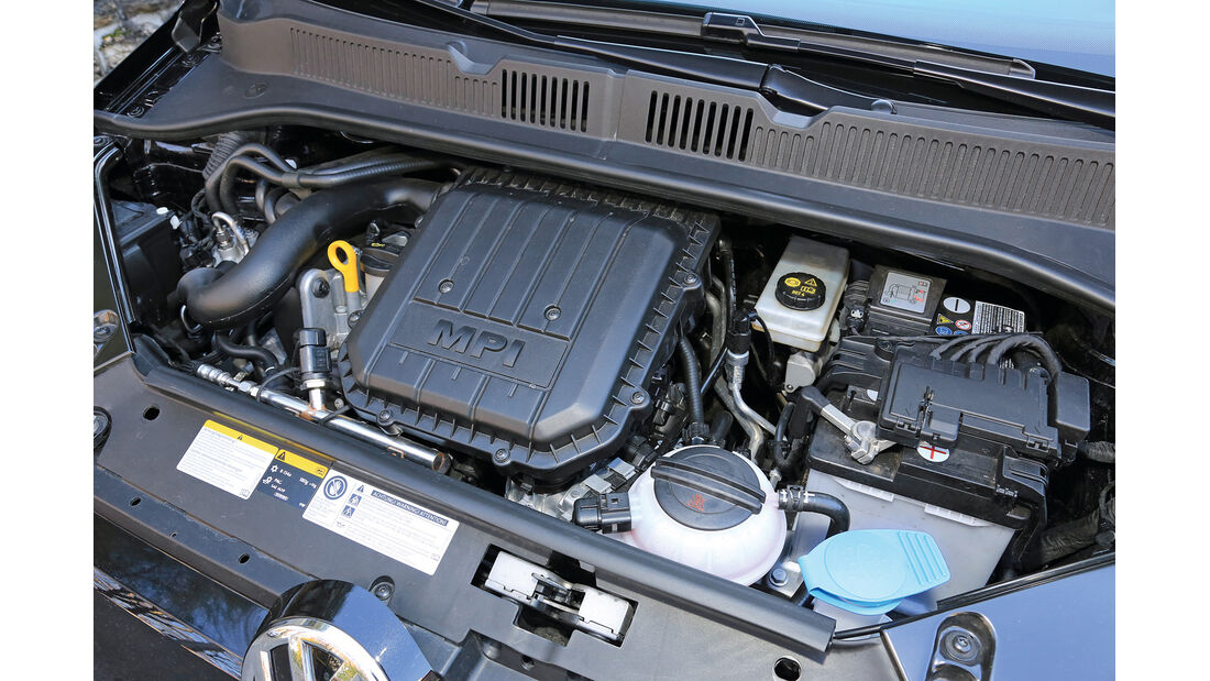 VW Up Ecofuel high up BMT, Motor