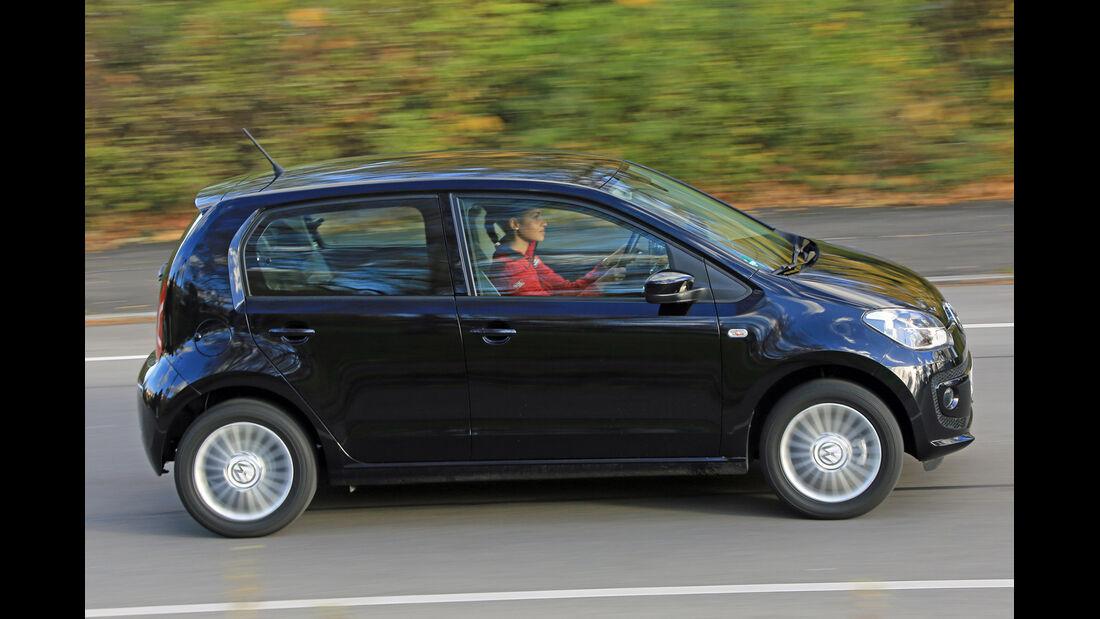 VW Up Ecofuel high up BMT, Seitenansicht