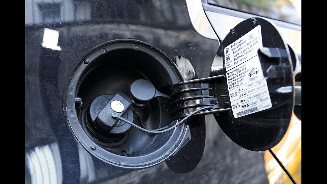 VW Up Ecofuel high up BMT, Tankstutzen